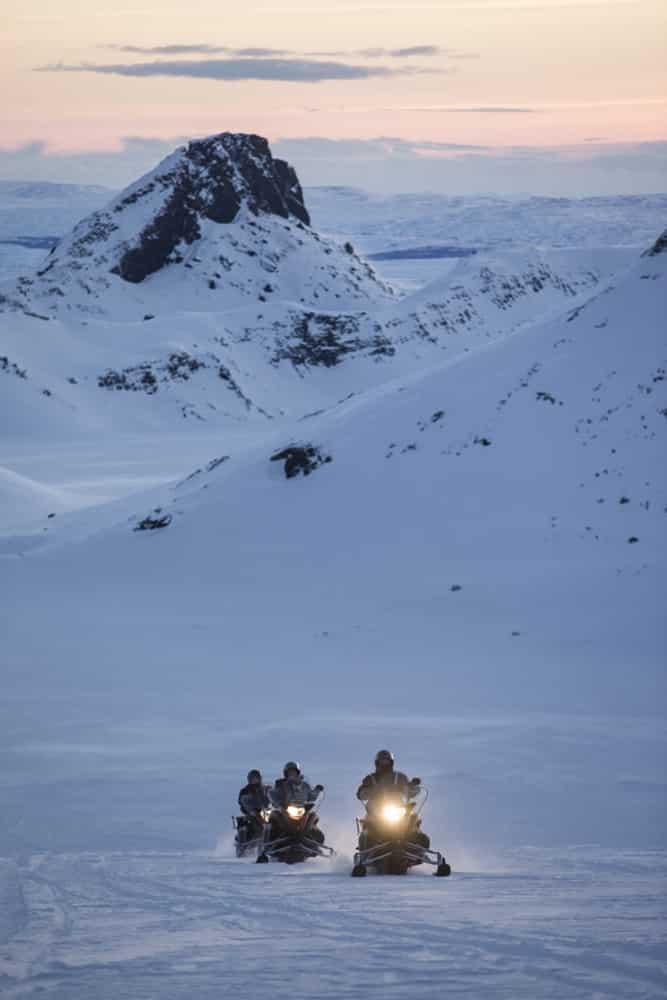 Snowmobile glacier Atlantik DMC PCO Incentive Cruise Events Conferences Iceland