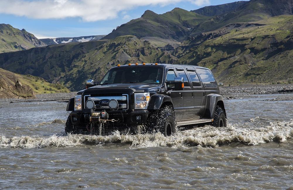 Super jeep Atlantik DMC PCO Incentive Cruise Events Conferences Iceland