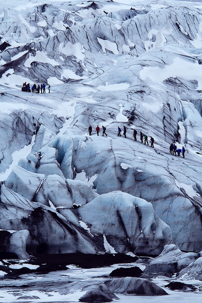 glacier walk Atlantik DMC PCO Incentive Cruise Events Conferences Iceland