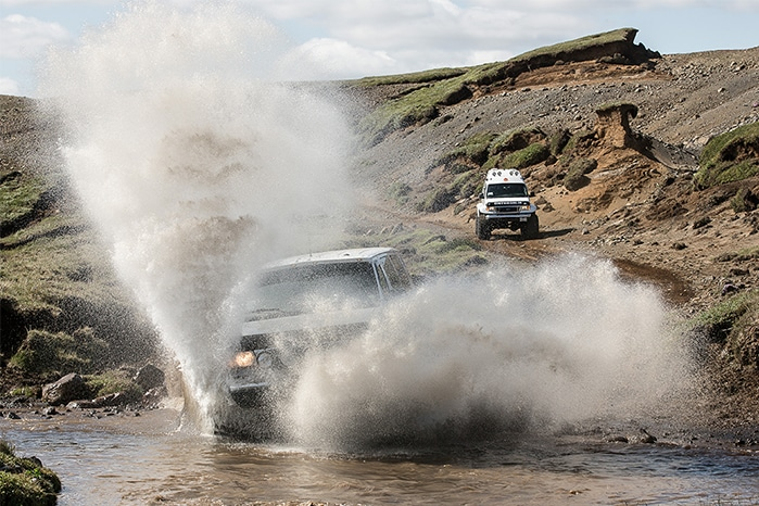 Atlantik DMC PCO Incentive Events Iceland Conference Super Jeep 2