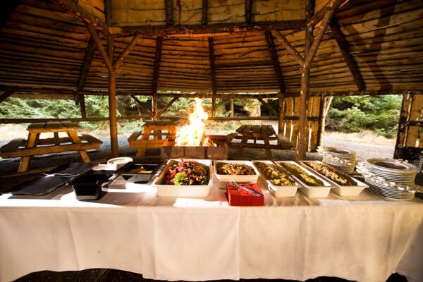 Outdorr buffet Atlantik Conference Iceland PCO Events Exhibitions