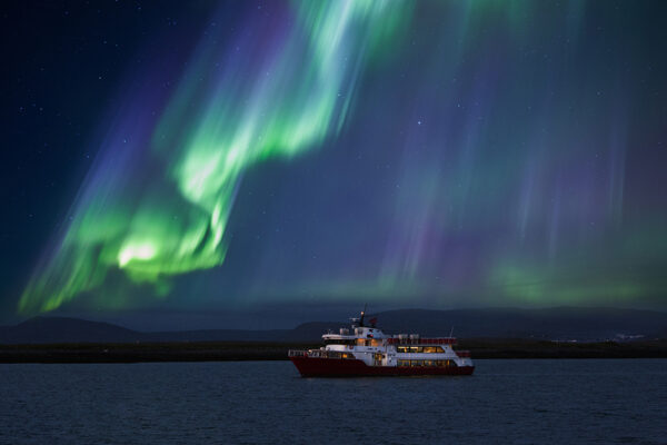 northern lights boat Atlantik Iceland Bespoke luxury travel FIT DMC PCO